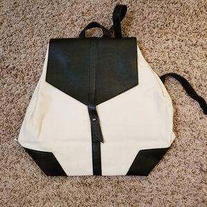 Deux Lux Demi Canvas/Vegan Women's Backpack Purse